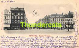 CPA KORTRIJK COURTRAI  RUE DE TOURNAI - Kortrijk