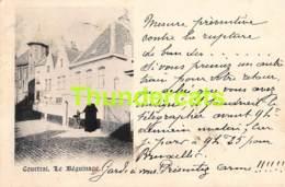 CPA KORTRIJK COURTRAI  LE BEGUINAGE - Kortrijk