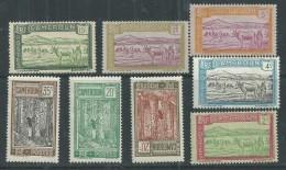 Cameroun N° 106 / 13 + 116  X Partie De Série : Les 8 Valeurs Trace De Charnière Sinon TB - Cameroun (1915-1959)