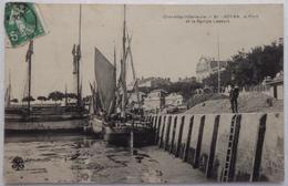 ROYAN, Le Port Et La Rampe Lessort - CPA 1909 - Royan