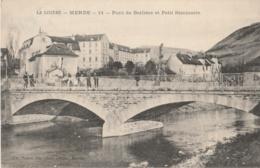 48 - MENDE - Pont De Berlière Et Petit Séminaire - TBE - Mende