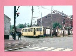 Photo Entre Élouges  Et  Mons  = TRAM   Motrice S 10239 Vient D' Elouges Vers  Mons Ligne 6 - Reproductions