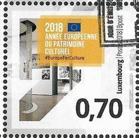 2018 Luxemburg Mi. 3162 Used  Europäisches Jahr Des Kulturerbes - 2018