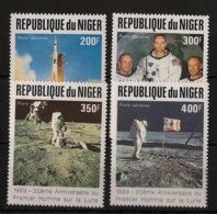 Niger - 1989 - Poste Aérienne PA N°Yv. 358 à 361 - Apollo XI - Neuf Luxe ** / MNH / Postfrisch - Afrika