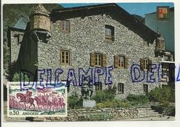 Valls D'Andorra.Andorra La Vella. Casa De La Vall 1977. FISA - Andorre
