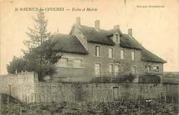 #230619B - 71 ST MAURICE LES COUCHES écoles Et Mairie - Blanchard édit - Francia