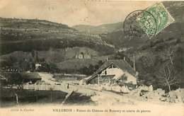 #230619B - 01 VILLEBLOIS Ruines Du Château De Bouvery Et Scierie De Pierres - Other Municipalities