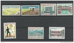 """Centrafrique YT 169 à 175 """" Opération Bokassa """" 1972 Neuf** - Centrafricaine (République)"""