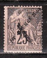 45  Timbre D'octobre 1891 Surchargé - MNG - LOOK!!!! - St.Pierre Et Miquelon