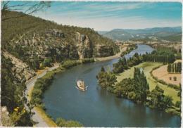 Australia TASMANIA Ferry River NEW NORFOLK Engelander Krüger 798/16 Postcard C1960s - Australia