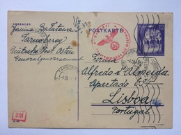 GERMANY Undercover Mail Tarnobrzeg To Lisbon With Censor Mark - Occupation 1938-45