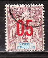 95  Timbre De 1892-1900 Surchargé - Bonne Valeur - Oblit. - LOOK!!!! - St.Pierre Et Miquelon
