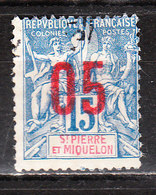 96  Timbre De 1892-1900 Surchargé - Bonne Valeur - Oblit. - LOOK!!!! - St.Pierre Et Miquelon