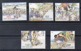 NOUVELLE ZELANDE    Timbres Neufs ** De 2003     ( Ref 6526 )  élevage - Animaux - Moutons - New Zealand