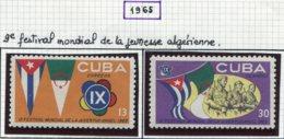 13439 CUBA Collection Vendue Par Page N° 854/5, 865/71, 872/5  *  1965  B/TB - Ungebraucht