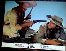 LE BON LA BRUTE ET LE TRUAND (1966) GOOD BAD AND UGLY Lot De 6 ORIG LOBBY CARDS Sergio Leone Clint Eastwood - Photos