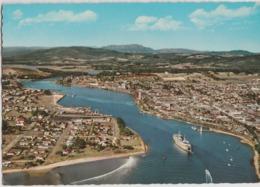 Australia TASMANIA Aereial View Mersey DEVONPORT Engelander Krüger 798/43 Postcard C1960s - Australia