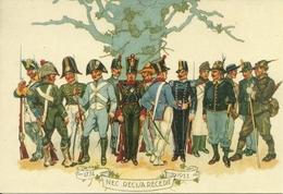 """Uniformi Esercito Italiano ?? """"1774 - 1933 Nec Recisa Recedit"""", Riproduzione B20, Reproduction - Uniformi"""