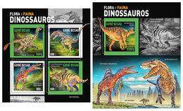 GUINEA BISSAU 2019 - Dinosaurs. M/S + S/S. Official Issue [GB190509] - Préhistoriques