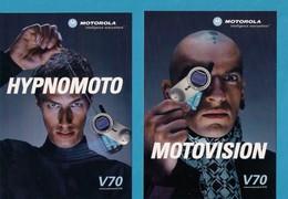 2 CPM.    Cart'com.    Motorola. - Publicité