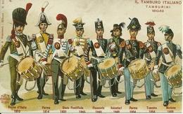 """Il Tamburo Italiano """"Tamburini 1810 - 1859"""", Riproduzione B21, Reproduction - Uniformi"""