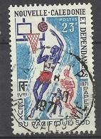 Nouvelle Calédonie N° 376  Basket-ball   Oblitéré B/ TB            Soldé à Moins De 20 % ! ! ! - Gebraucht