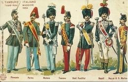 """Il Tamburo Italiano """"Tamburini Maggiori 1859"""", Riproduzione B22, Reproduction - Uniformi"""