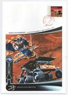 19/6 Exploration Spatiale Grande Enveloppe 16 X 23 Cm MARS Pathfinder SUPERBE - Other