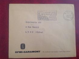 PP Saint Ouen OFMI GARAMONT - Marcophilie (Lettres)