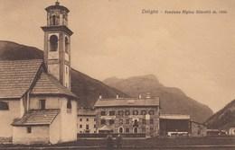 LIVIGNO-SONDRIO-PENSIONE ALPINA=SILVESTRI=CARTOLINA NON VIAGGIATA ANNO 1915-1925 - Sondrio