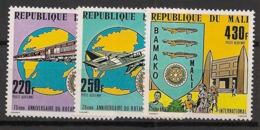 Mali - 1980 - Poste Aérienne PA N°Yv. 376 à 378 - Rotary - Neuf Luxe ** / MNH / Postfrisch - Rotary, Club Leones
