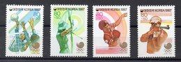 COREE DU SUD    Timbres Neufs ** De 1987     ( Ref 6531 )  - Sport - J O - - Corée Du Sud