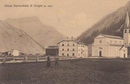 LIVIGNO-SONDRIO-PARROCCHIALE DI LIVIGNO-CARTOLINA NON VIAGGIATA ANNO 1915-1925 - Sondrio