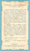 PREGHIERA A MARIA SS. PER IMPETRARE LA PACE - E - PR - Religione & Esoterismo
