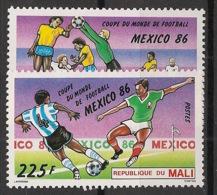 Mali - 1986 - N°Yv. 532 à 533 - Football World Cup Mexico 86 - Neuf Luxe ** / MNH / Postfrisch - Fußball-Weltmeisterschaft