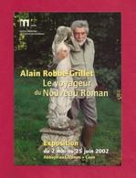 CPM.    Cart'com.    Exposition Alain Robbe-Grillet.  Abbaye Aux Dames à Caen. - Expositions