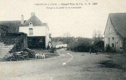 49  CIRCUIT DE L'ANJOU  GRAND PRIX ACF 1909  VIRAGE A LA SORTIE DE LA CORNOUAILLE - Unclassified