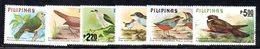APR1526 - FILIPPINE 1979, La Serie Usata A Tema UCCELLI (2380A) . Birds - Filippine