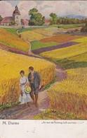 AK M. Darms - Es War Ein Sonntag Hell Und Klar - 1923  (42104) - Paintings