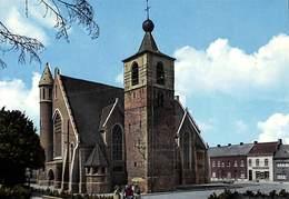 Anderlues - L'Eglise  (Edit. De Mario Yvoir, Imprimée En Italie, Colorisée) - Anderlues