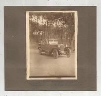 2 Photographies, 160x150 Mm, Automobile, Les Sables D'Olonne,1925 , Verso : La Coubre ( 17) ,2 Scans - Automobiles