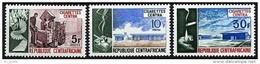 "Centrafrique YT 215 à 217 "" Cigarettes Centra "" 1974 Neuf** - Central African Republic"