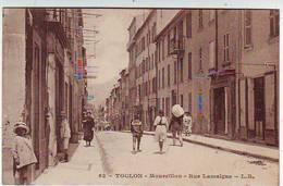 83. TOULON . MOURRILLON . RUE LAMALGUE . Editeur L. R. - Toulon