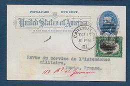 Etats Unis - Entier Postal Oblitéré CARLISLE - Interi Postali