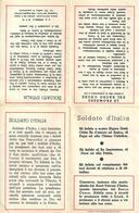 LA PROMESSA DEL SOLDATO AL SACRO CUORE - APRIBILE IN QUATTRO PARTI - Anno: 1941 - Religione & Esoterismo
