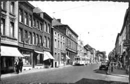 Binche - Avenue Vanderpepen (Edit. Ray. Longfils, Animée, Oldtimer, Tram Tramway Pharmacie) - Binche