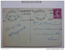 Flamme Cheques Postaux Vannes Morbihan - Marcophilie (Lettres)