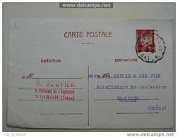 Cachet Ambulant Lyon Grenoble - Railway Post