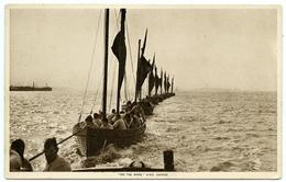 ROYAL NAVY TRAINING SHIP / SCHOOL : H.M.S. GANGES - ON THE RIVER (TUCKS) - Ships