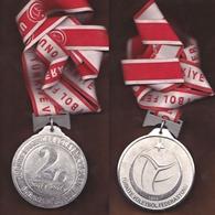 AC - SECOND OF MEN'S THIRD LEAGUE  2013 - 2014 SEASON TURKISH VOLLEYBALL FEDARATION MEDALLION - MEDAL - Deportes